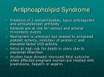 antiphospholipid syndrome