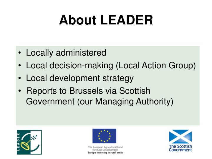 About LEADER