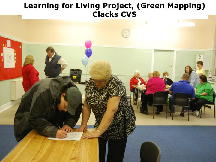 Learning for Living Project, (Green Mapping)