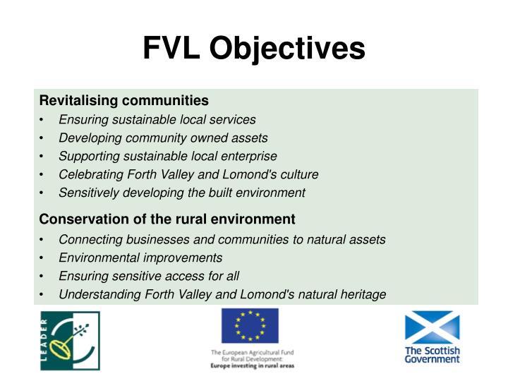 FVL Objectives