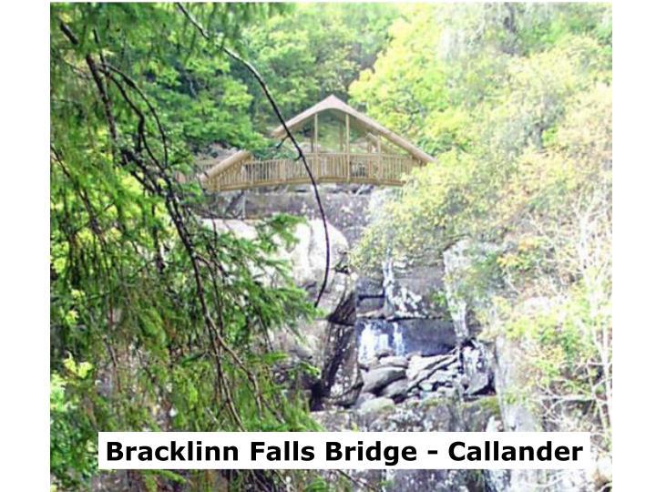 Bracklinn Falls Bridge - Callander