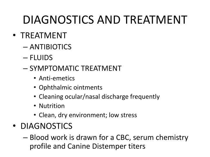 DIAGNOSTICS AND TREATMENT