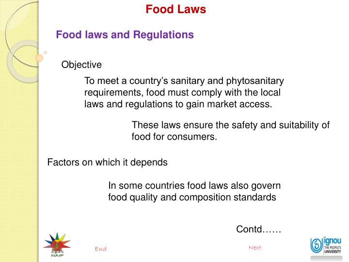 Food Laws