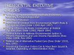 presidential executive orders1