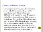 creating mental images