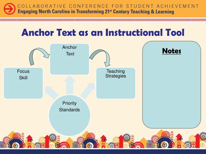 Anchor Text as an Instructional Tool