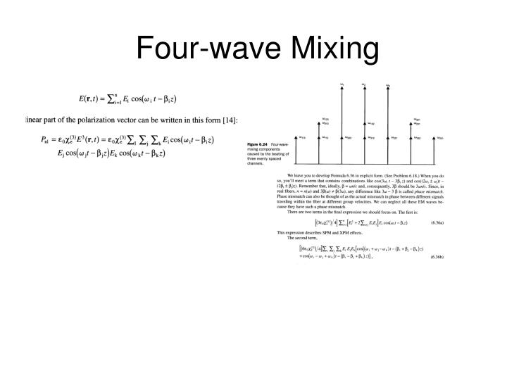 Four-wave Mixing
