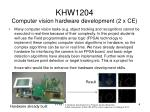 khw1204 computer vision hardware development 2 x ce