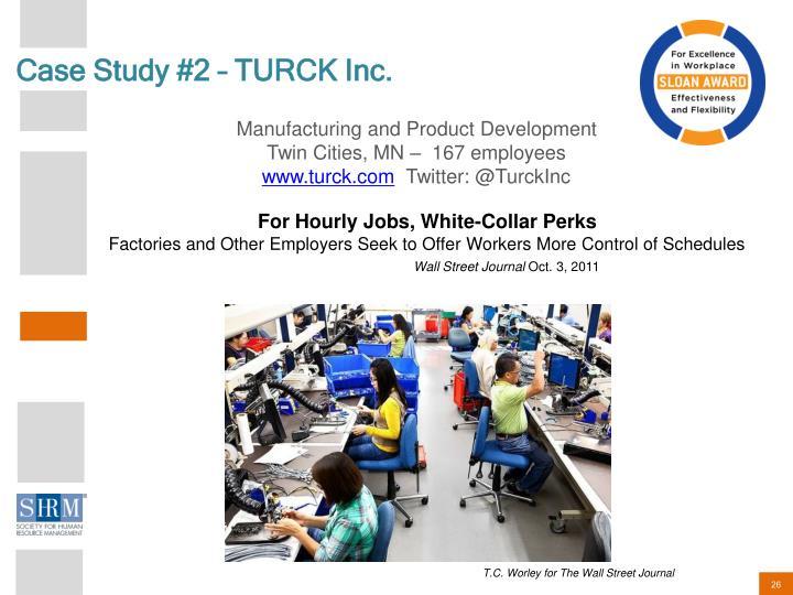 Case Study #2 – TURCK Inc.