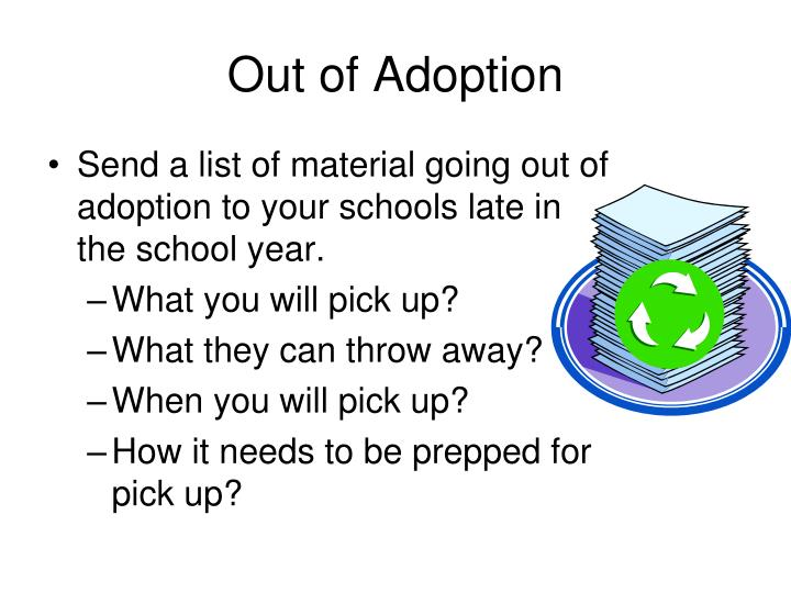 Out of Adoption