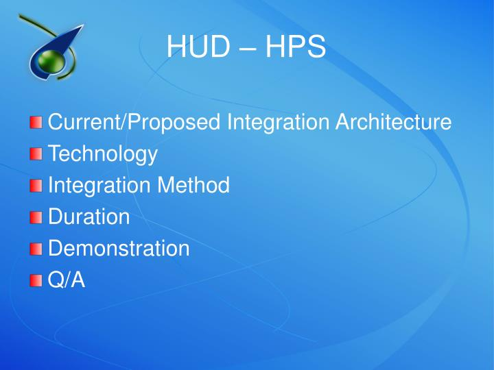 HUD – HPS