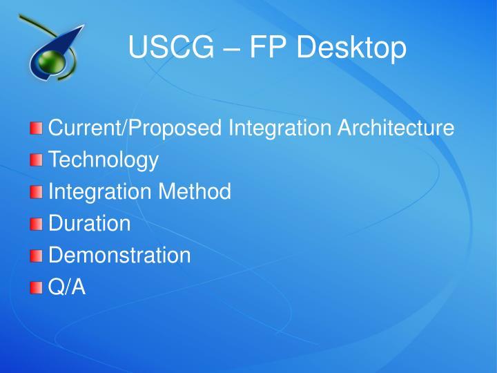 USCG – FP Desktop