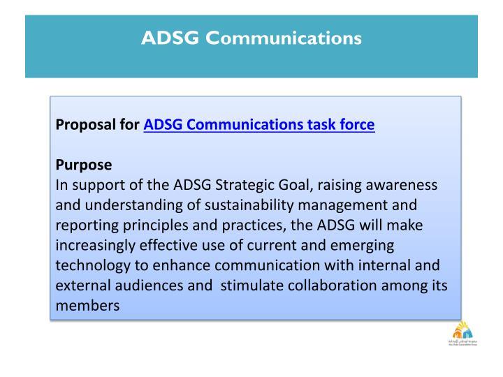 ADSG Communications
