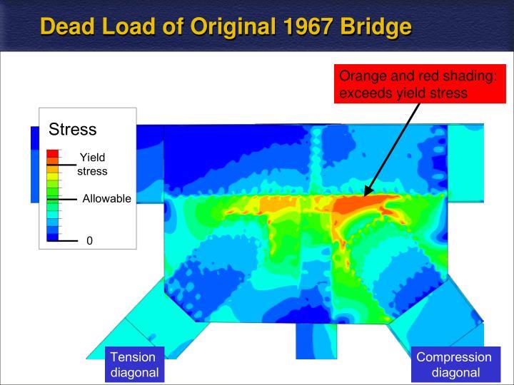 Dead Load of Original 1967 Bridge
