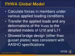 fhwa global model