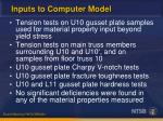 inputs to computer model1