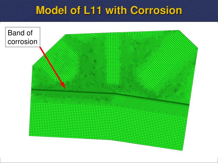 Model of L11 with Corrosion