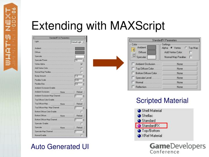 Extending with MAXScript