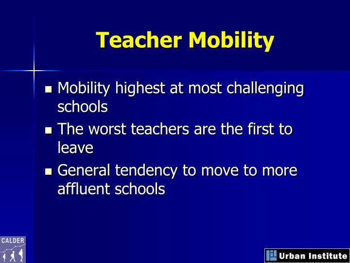 Teacher Mobility