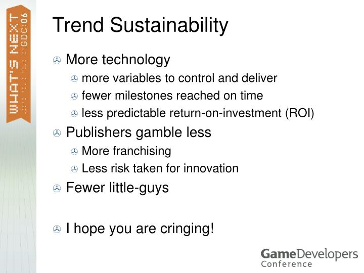 Trend Sustainability