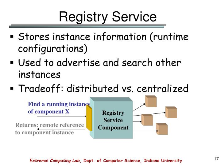 Registry Service
