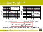 simulation results 1 2 os afde vs cp afde