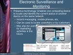 electronic surveillance and monitoring3