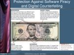 protection against software piracy and digital counterfeiting2