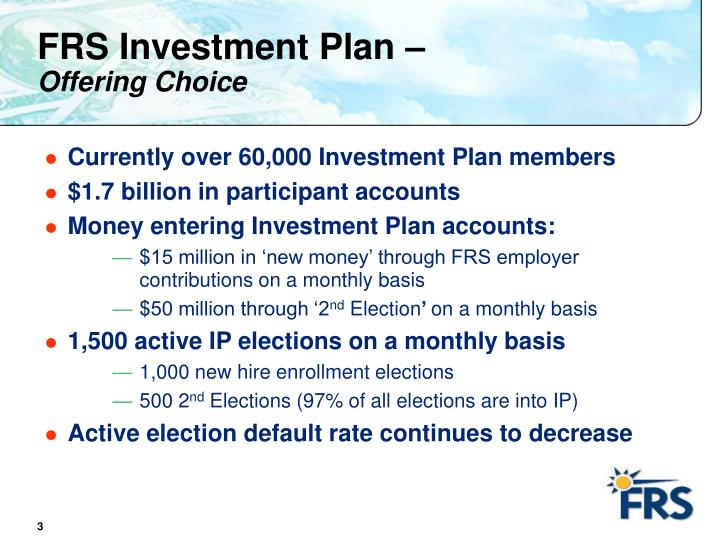 FRS Investment Plan –
