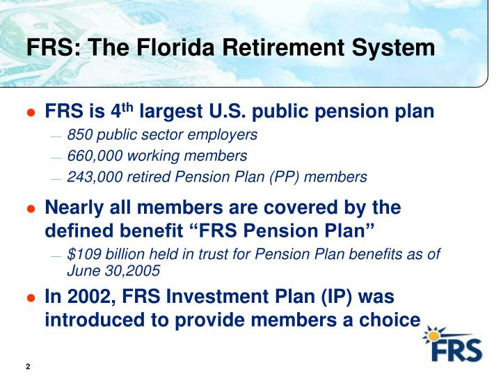 FRS: The Florida Retirement System