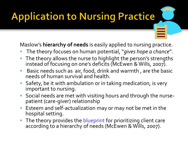 Application to Nursing Practice