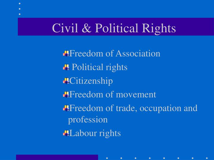 Civil & Political Rights