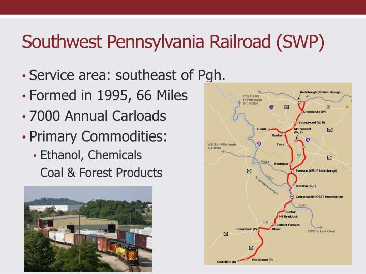 Southwest Pennsylvania Railroad (SWP)