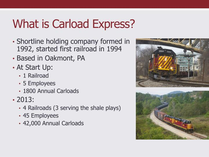 What is Carload Express?