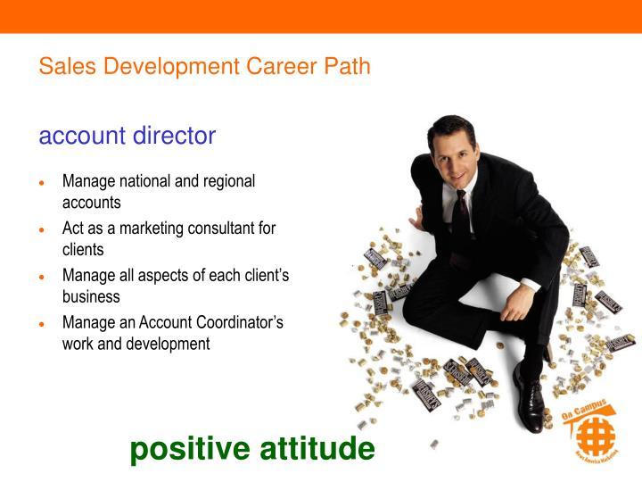 Sales Development Career Path