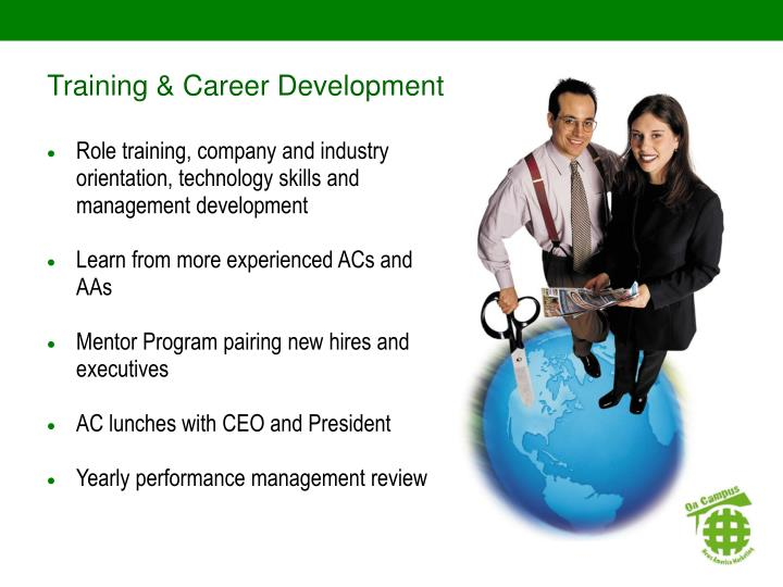Training & Career Development