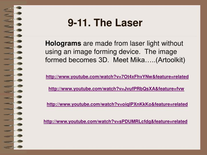 9-11. The Laser