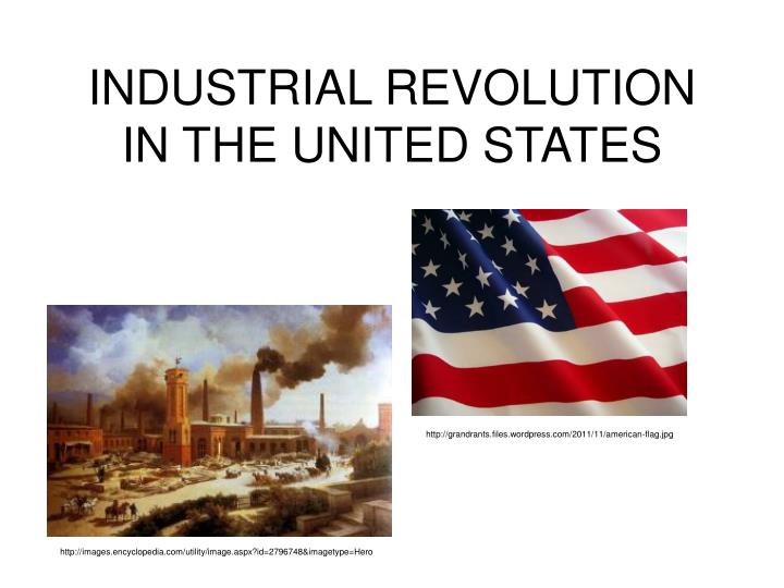 industrial revolution in the united states