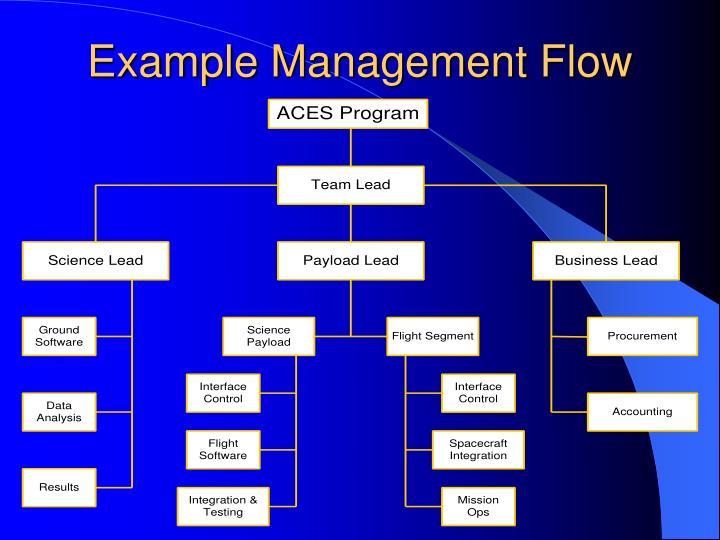 Example Management Flow