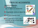 tipos de accidentes