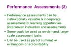 performance assessments 3