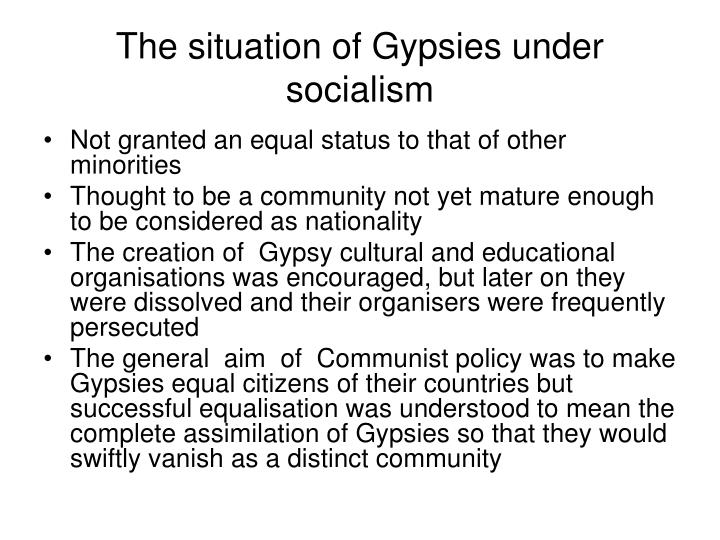 The situation of Gypsies under socialism