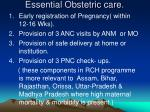 essential obstetric care