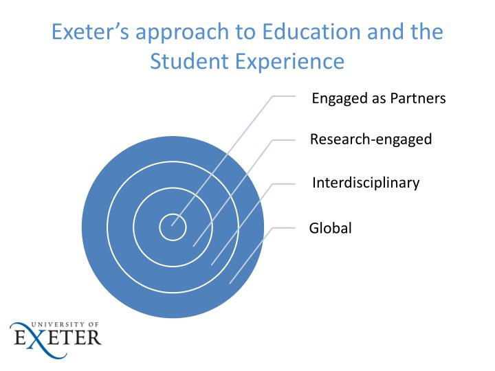 Exeter's approach to Education and the Student Experience