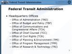 federal transit administration1