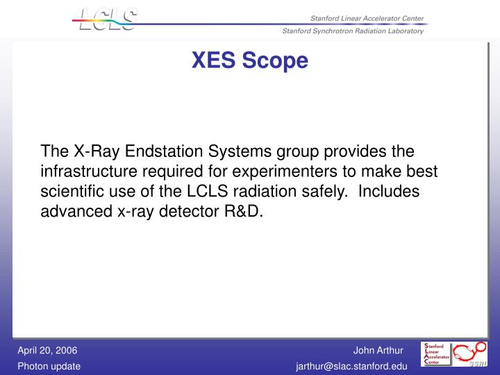 XES Scope