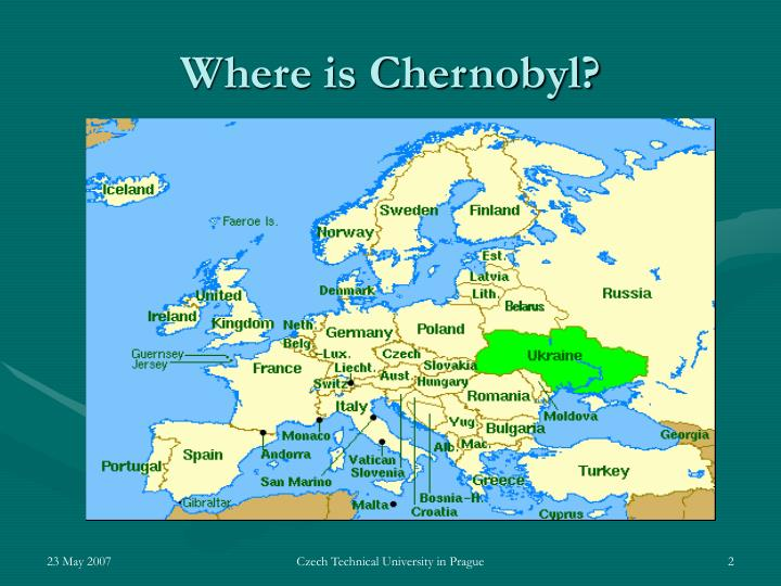 Where is Chernobyl?