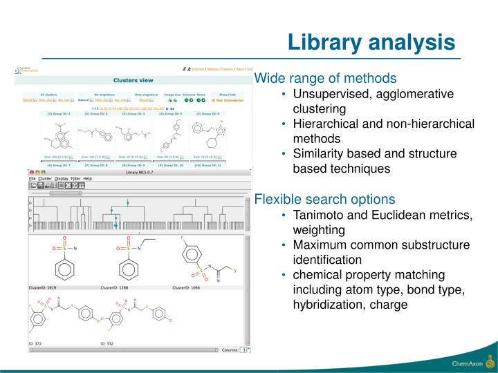 Library analysis