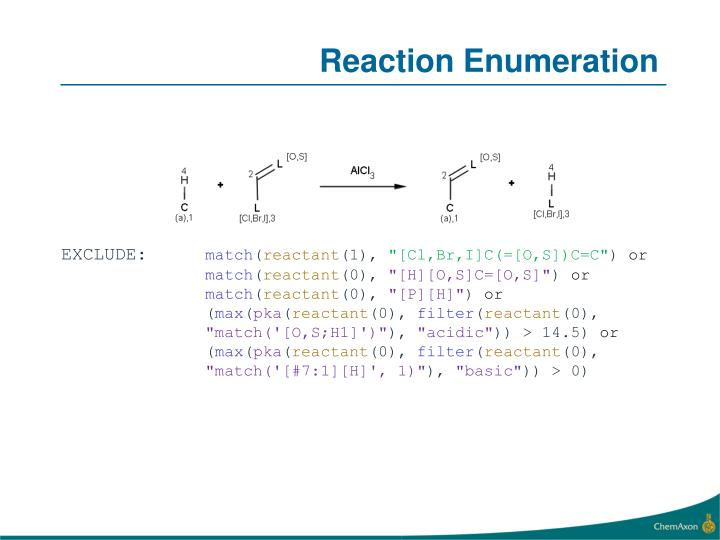 Reaction Enumeration