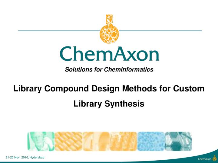 Library Compound Design Methods